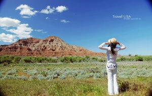 【锡安国家公园图片】美國西部之旅-錫安國家公園Zion National Park(上)