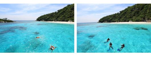 泰国普吉岛 皮皮岛 鸡蛋岛 玛雅湾快艇浮潜一日游