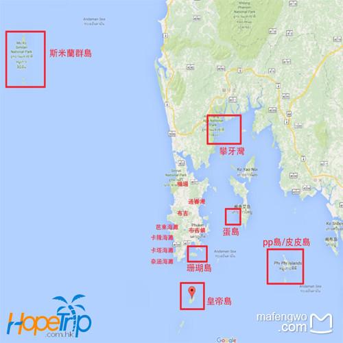 【皇帝岛岛上地图】