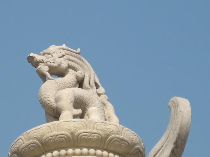 北京两只兔子雕塑