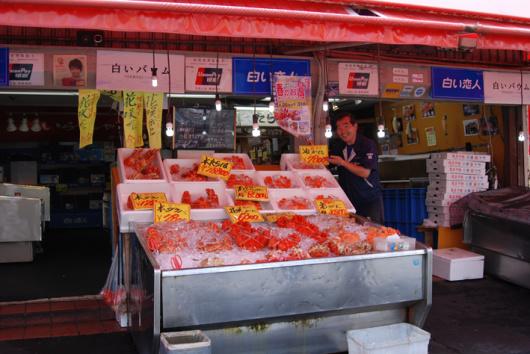 札幌半日游】白色恋人公园+海鲜市场+北海神宫(札幌