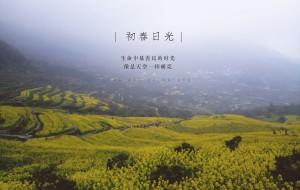 【上虞图片】赏梯田油菜,登雾中高山