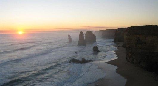 【醉美日落】墨尔本大洋路海岸线喂鹦鹉+吉布森台阶