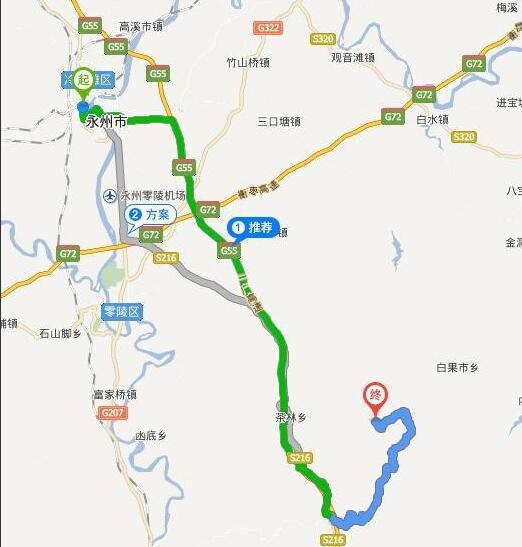 坐标:湖南永州阳明山国家森林公园,园区内有一个万寿寺非常灵验,所以