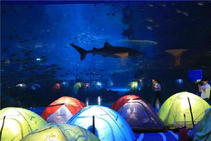 福州·贵安海洋馆:海洋世界是福州最大的3级水族馆,占地面积约1.