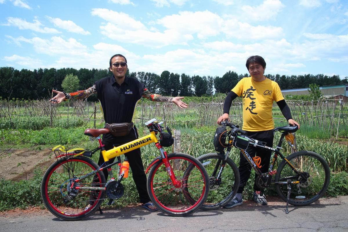 屌丝自行车骑行巡游北京明十三陵风景区2017年5月 朱晓光