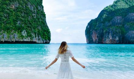 泰国普吉岛皮皮岛蛋岛洛克五岛