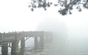 【庐山图片】雾雨清晨上庐山