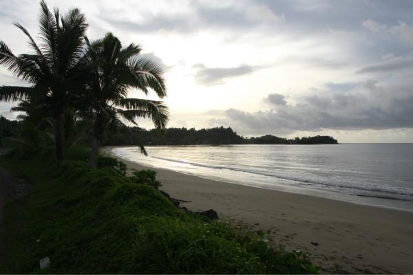 斐济 游记  除了船,水上飞机是主要运输工具.