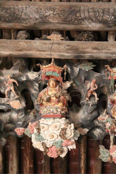 广胜寺 唯一的元代戏曲壁画寺庙