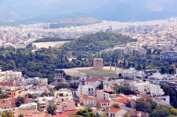 欧洲地区旅游 希腊旅游攻略 大连人的品尝蓝色之旅 卫城→狼山(3)