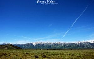 【黄石国家公园图片】【美国】大提顿山脉和黄石公园