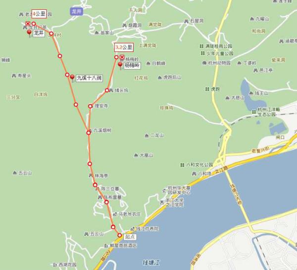 最美杭州.九溪十八涧之龙井别墅的方向式样乡下路程图片