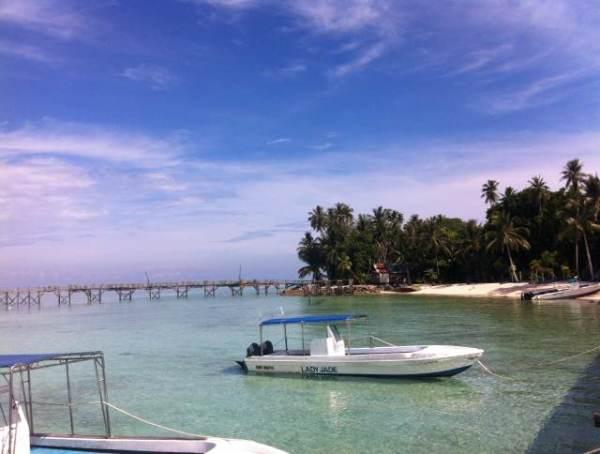 媲美马尔代夫的-kapalai 卡帕莱 吉隆坡 斗湖 仙本那      马布岛很小