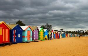 【澳大利亚图片】墨尔本杂记(三) 海边的彩色小屋