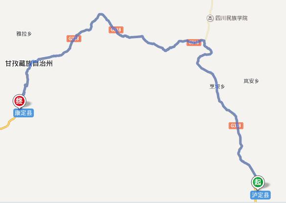 四川省旅游 川藏南线旅游攻略 足迹318·川藏南线骑行日记  给老婆买