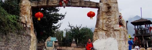 龙门山风景名胜区九顶山,地处德阳市境内的什邡市红白镇,茂县境内的