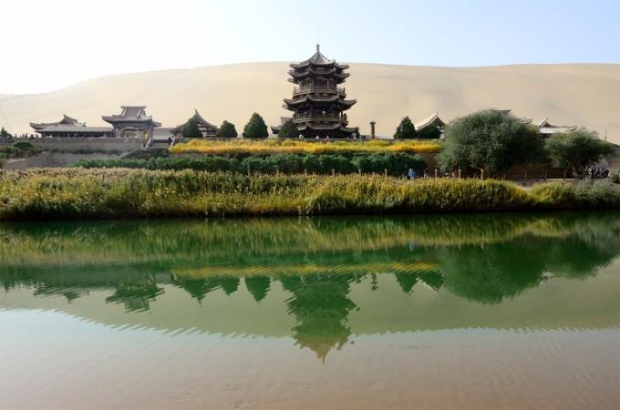 丝路之旅-甘肃敦煌,嘉峪关,张掖游记
