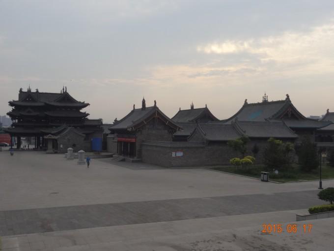"""素有""""三贤故里""""之称  旅游景点有绵山风景区,张壁古堡,介休祆神楼"""