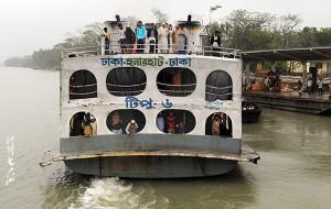 【孟加拉国图片】【孟加拉国】从达卡乘火箭船去库尔纳