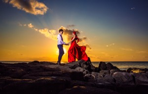 【毛里求斯图片】游在梦境,毛里求斯,我们的证婚人ლ(°◕‵ƹ′◕ლ)一男一女&一夫一妻& 一生一世~.~