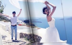 【圣托里尼图片】希腊的蜜月回忆