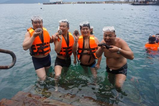 【驴友力荐】三亚分界洲岛户外潜水+富力湾冲浪一