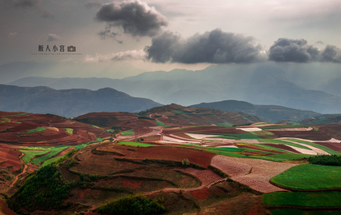 另类云南,寻找那些错过的风景.(沾益,东川,普者黑)