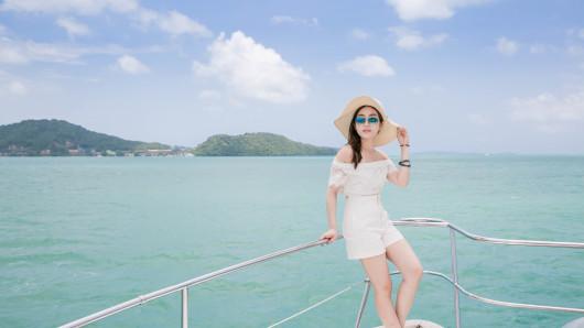 【发现】动力双体游艇蜜月岛 pp岛日落( discover catamaran)