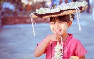 【缅甸图片】【蜂首纪念】相信就是幸福--棉麻国12日行记