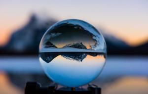 【加拿大图片】冰火赞礼之歌 仰望落基群山之上の星空