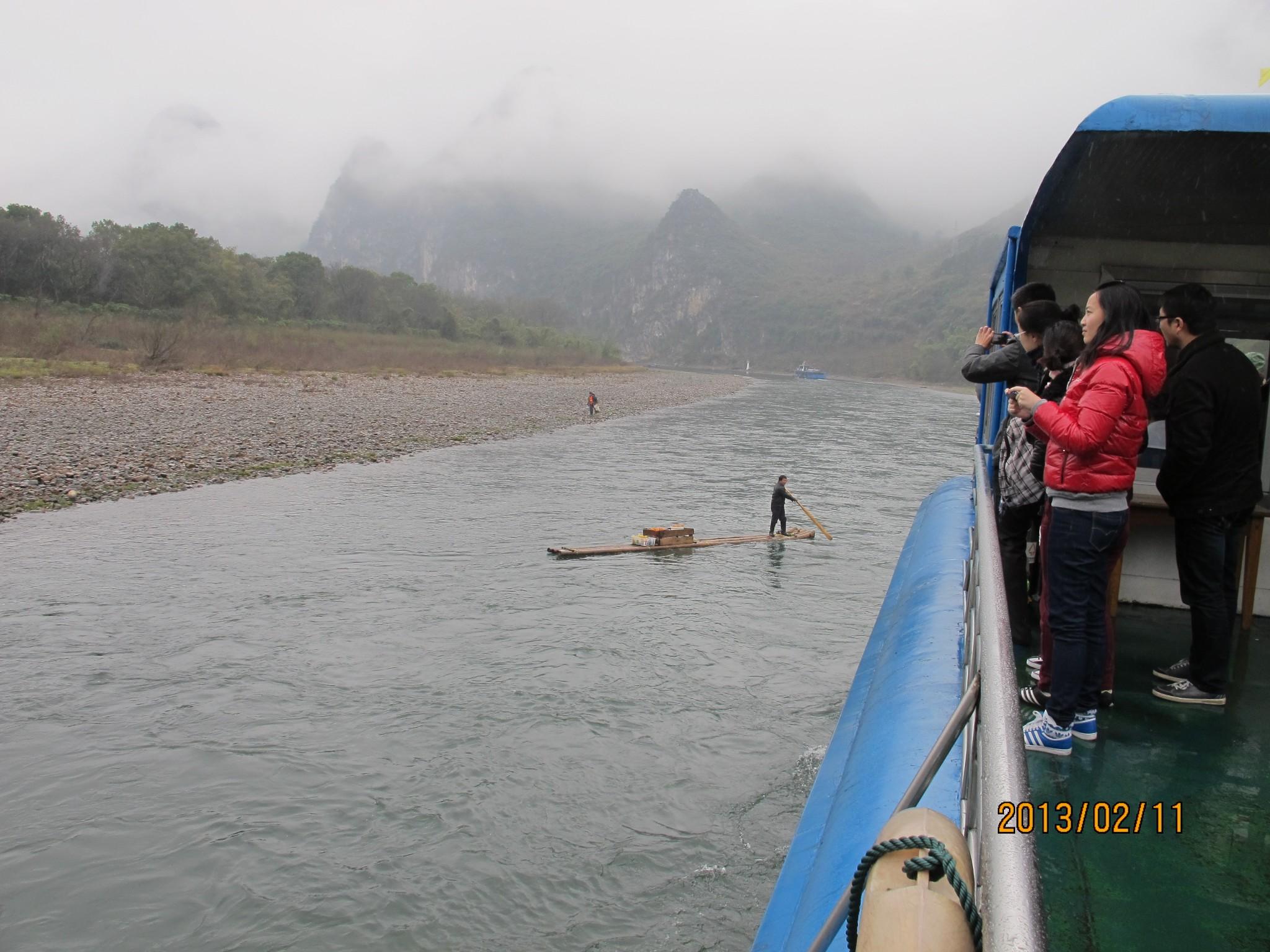 风景最美的岩溶山水游览区,桂林漓江风景区以桂林市为中心,北起兴安