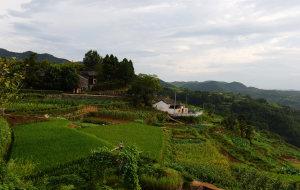 【磐安图片】乌石村,乌油油的石头砌成的村