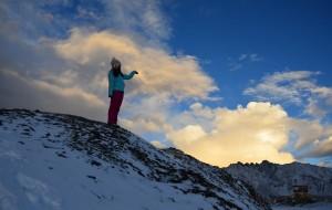 【黑水图片】雅克夏雪山——等待纷纷扬扬一场雪