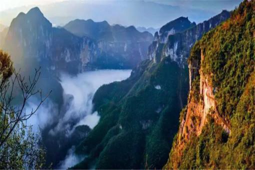 【重庆出发】重庆云阳龙缸·大美龙洞,云端廊桥,三峡梯城二 云端廊桥