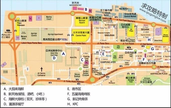 亚庇地图中文版电子