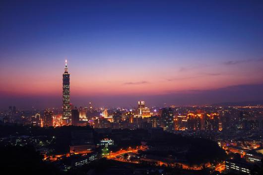 taipei101座落于台北最菁华地段,是台湾图片