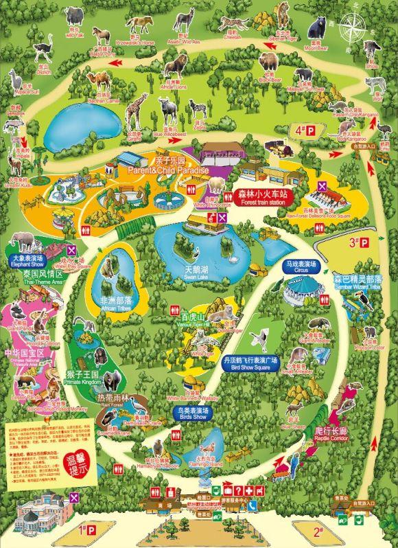 【杭州亲子必游】杭州野生动物园门票 富阳野生动物世界成人电子票