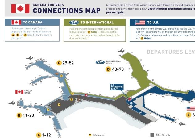 乘坐国航到温哥华转美国航空去洛杉矶 需要加拿大过境图片