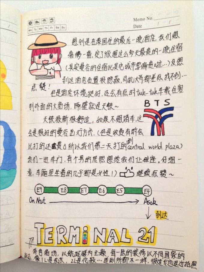 泰国旅游手帐(曼谷/清迈/pai县/清莱/普吉岛)20141025