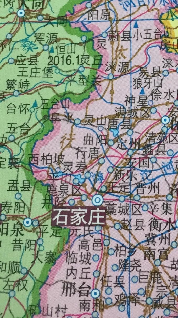 手绘沈阳名胜地图