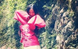 【利川图片】穿着汉服溜达在利川观音峡