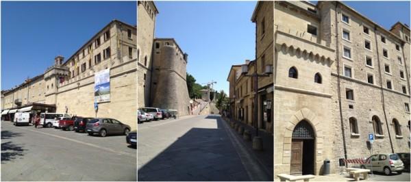 圣马力诺/圣马力诺是在山上的一个国家,很诧异山上居然还能有个国家,...