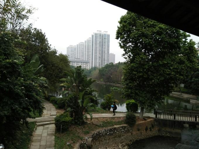 广西民族大学半日游图片