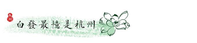杭州——白发最忆是杭州